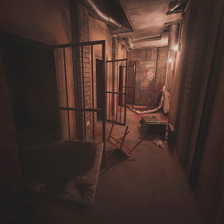 An abandoned prison - Lisbon Game Over Escape Rooms