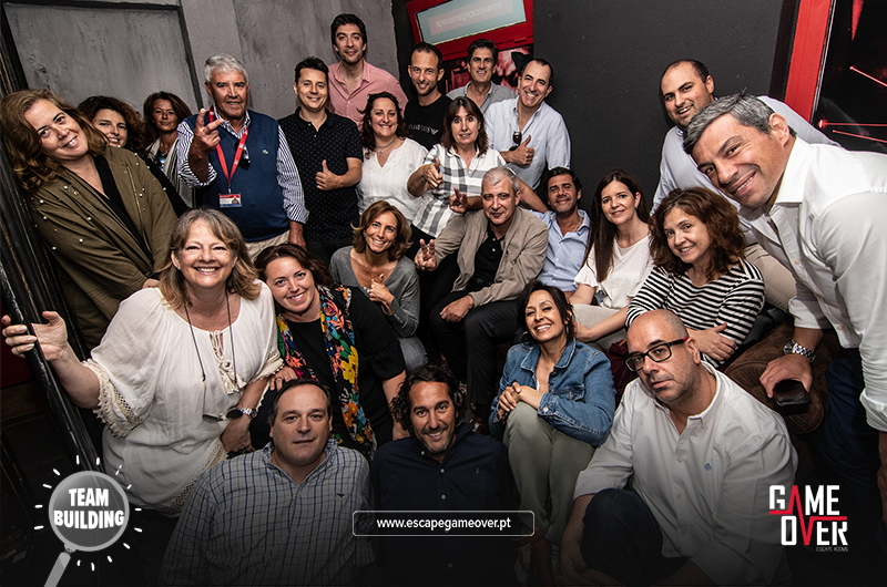 Team building skills - Game Over Escape Rooms Lisbon